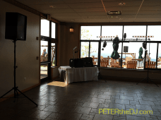 DJ Peter Naughton at Skyline Lodge at Highland Forest in Fabius