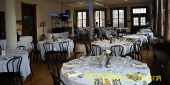 Wide view of the lounge after set-up was complete but before guests arrived
