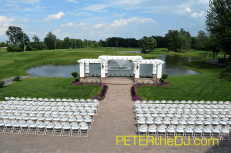 The newly redesigned ceremony area is beautifully-appointed.