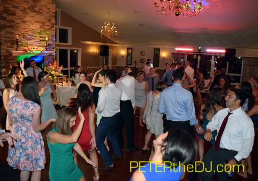 Open dance floor at Maura and Nick's reception at Traditions at the Links, East Syracuse, NY, August 29, 2015.