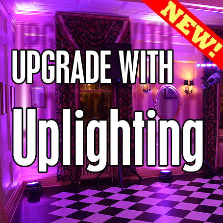 Now Available for YOUR Event: Uplighting!
