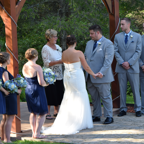 Wedding: Elise and Ryan at West Branch Resort, 8/13/16