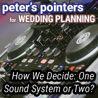 Peter's Pointers: One Sound System or Two?