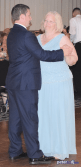 Groom/mother dance: Stephanie & Larry's wedding reception at Hart's Hill Inn, Whitesboro, NY - August 2017