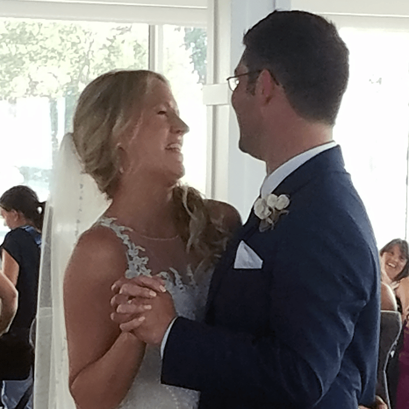 Wedding: Chris and Ashley at Lake Shore Yacht & Country Club, Cicero, 6/16/18