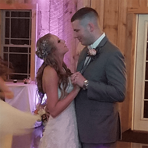 Wedding: Tiffany and Matt at Wolf Oak Acres, Oneida, 8/18/18