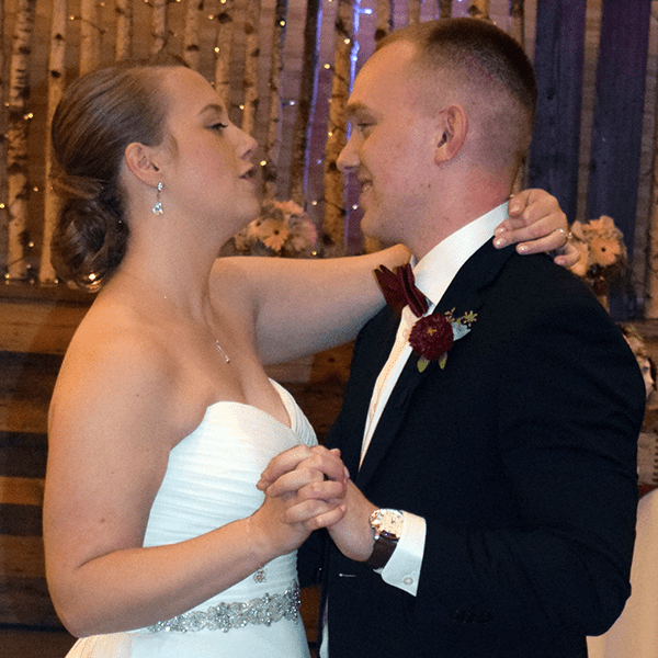 Wedding: Emily and Nicholas at Tailwater Lodge, Altmar, 10/13/18