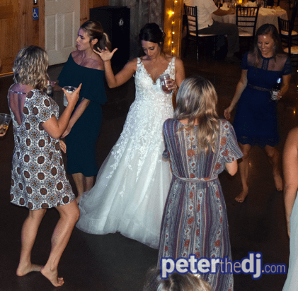 Wolf Oak Acres Wedding DJ - Theresa and Eric - September 2018 - Photo by Peter Naughton Productions peterthedj.com