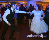 Megan and Jimmy's wedding reception at Beardslee Castle, Little Falls, NY. Photo by DJ Peter Naughton.