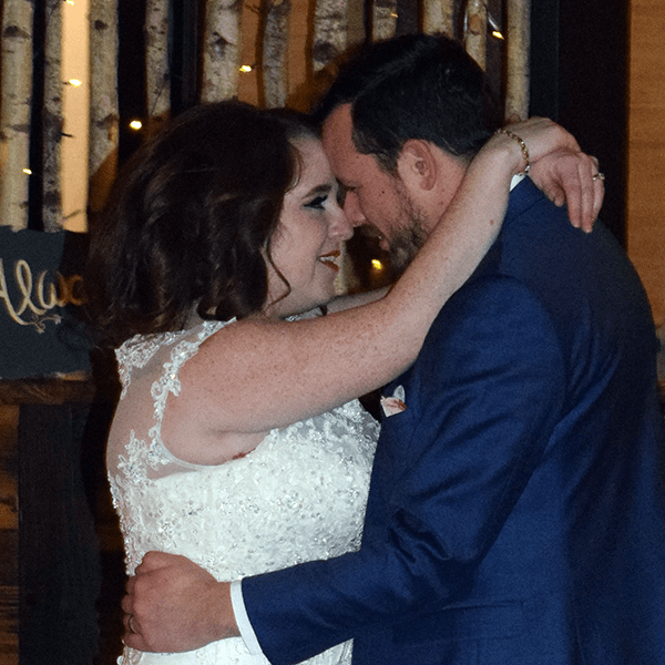 Wedding: Irene and Robert at Tailwater Lodge, Altmar, 12/29/18