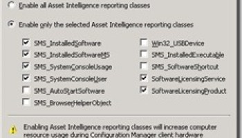 Data Source Settings of the Reporting Services in ConfigMgr