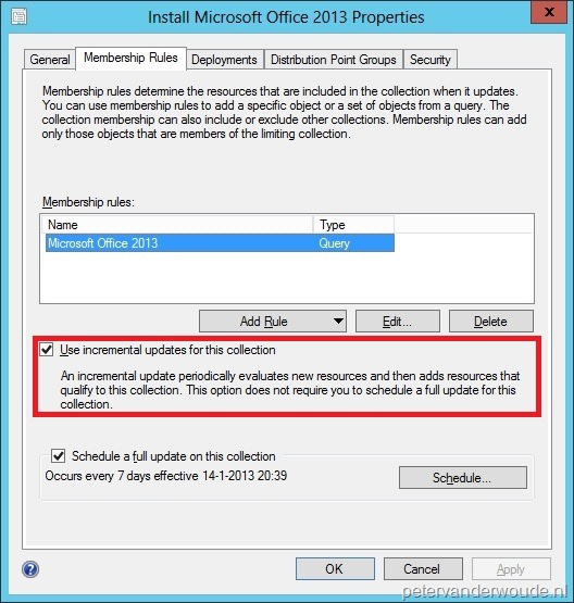 Sccm 2007 collection not updating