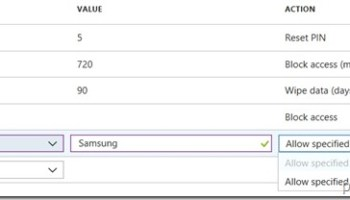 Block and allow apps on Samsung KNOX devices – More than just ConfigMgr