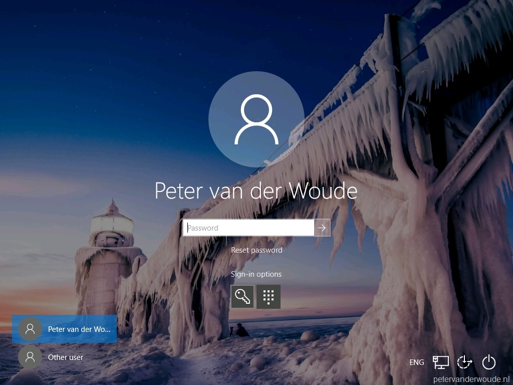 Enable password reset from the login screen – More than just ConfigMgr