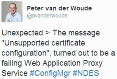 NDES – More than just ConfigMgr