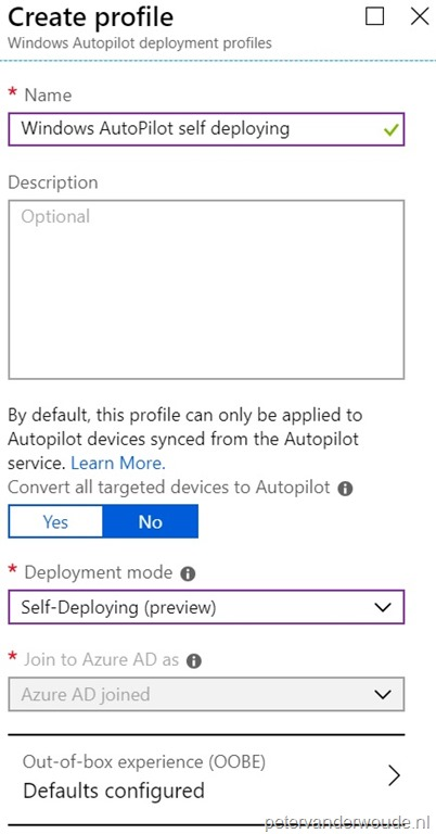 Windows Autopilot self-deploying mode – More than just ConfigMgr