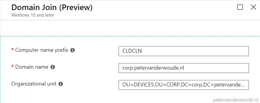 Hybrid Azure AD join with Windows Autopilot – More than just ConfigMgr