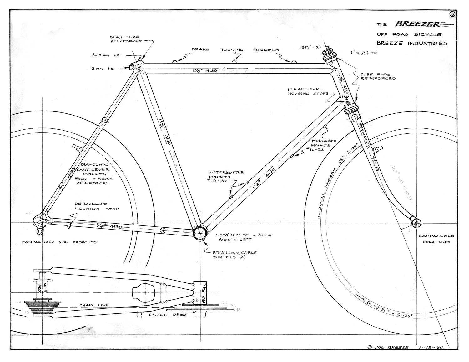 Vintage Mountain Bike Geometry Here S A 78 Degree Head