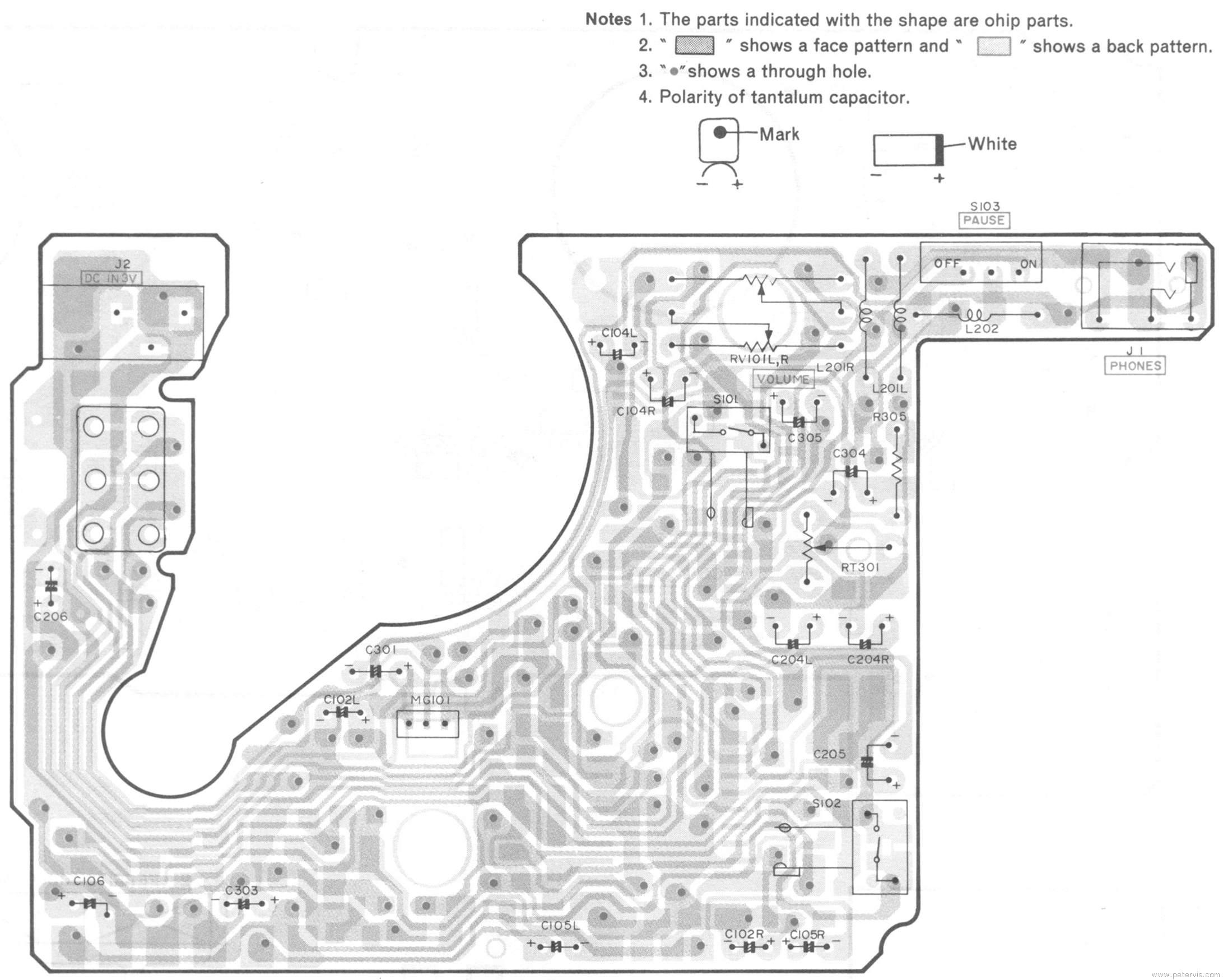 Hitachi CP-88R Circuit Boards