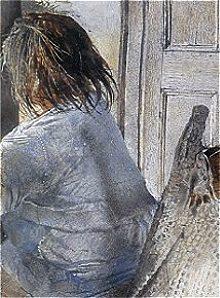 Peter Vilhelm Nielsen  Drybrush watercolour Andrew