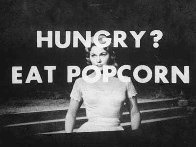 Eat Popsorn and Drink Coke