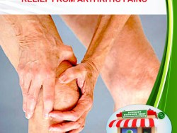 RELIEF FROM ARTHRITIC PAINS