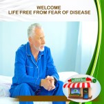 LIFE FREE FROM FEAR OF DISEASE