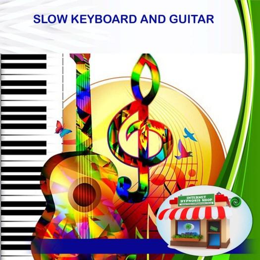 SLOW KEYBOARD AND GUITAR. min