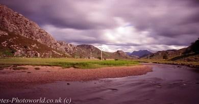 View between Gairloch & Torridon