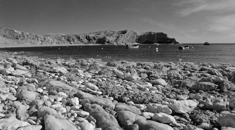 Lulworth Cove Bay Infrared
