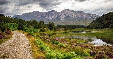 Loch Coulin and Beinn Eighe