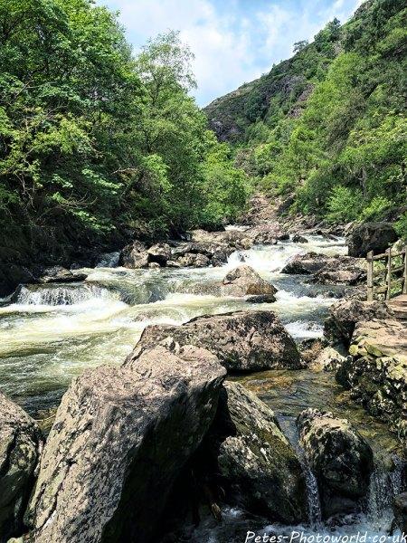 Aberglaslyn Pass rapids