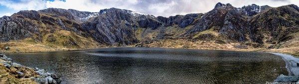 Llyn Idwal panorama