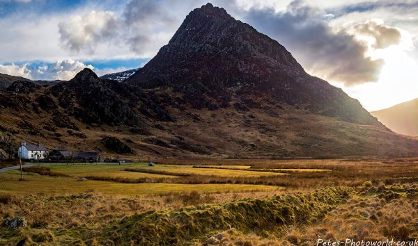 Tryfan at sunset