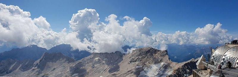 Zugspitze panorama 4