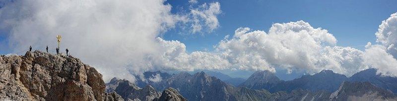 Zugspitze panorama 2