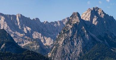 Zugspitze panorama 1