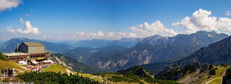 Alpspitze cable car station