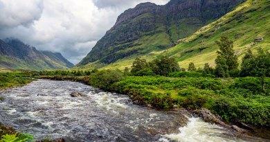 Aonach Dubh & River Coe
