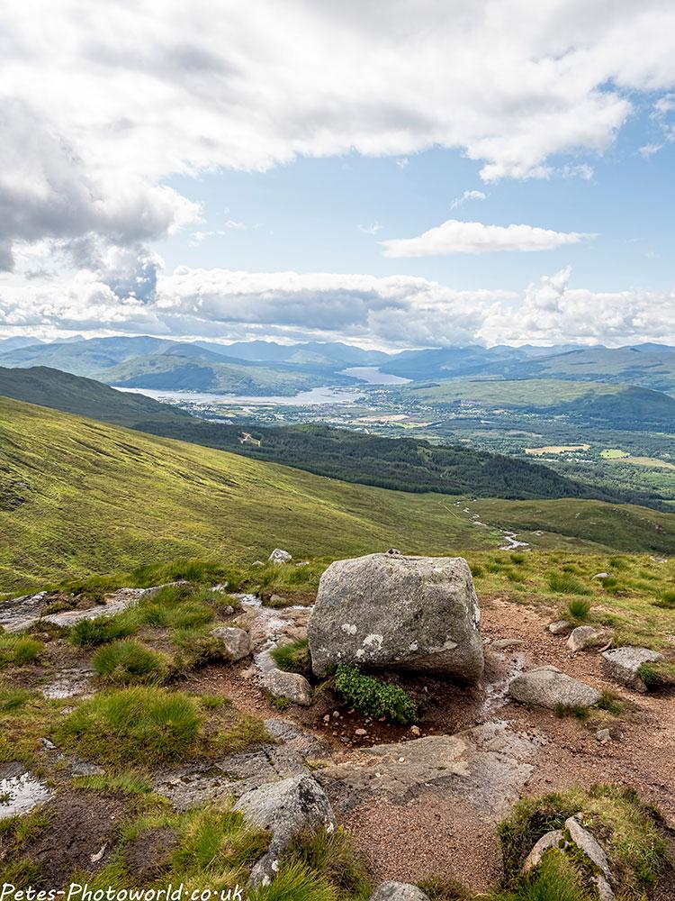 Loch Linnhe, Loch Eil, the hills of Ardgour and Moidart portrait