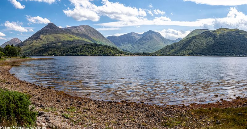Loch Leven panorama