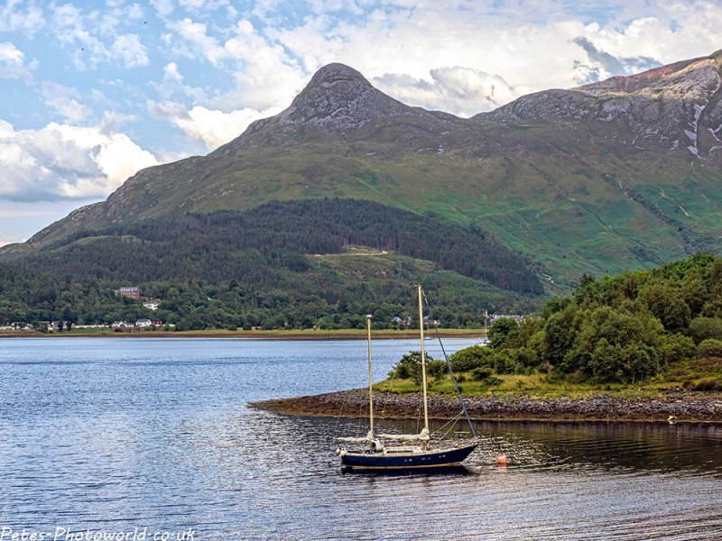 Pap of Glencoe from North Ballachulish