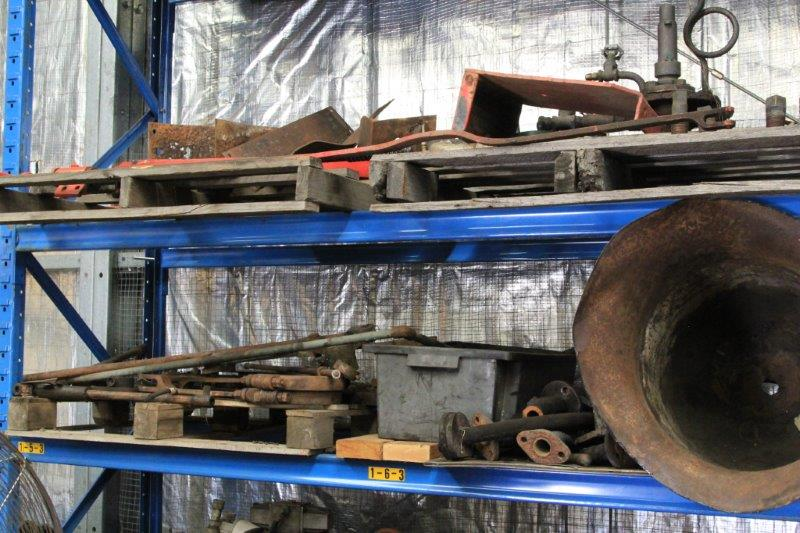2015-1082: Various parts from the Hunslet in storage
