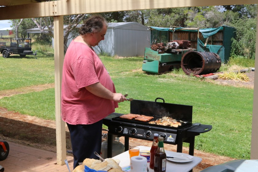 2016-4501: Nicholas cooking lunch