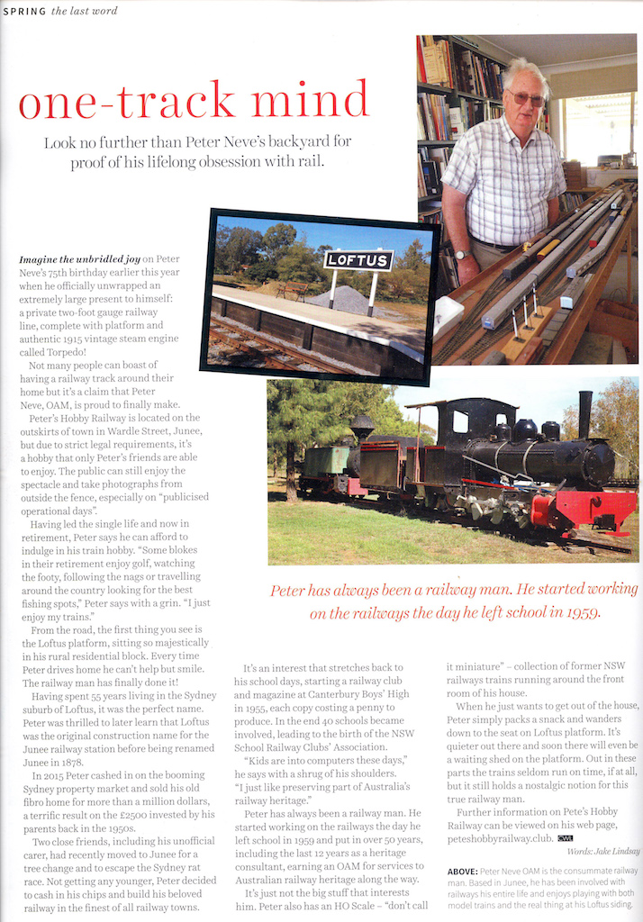 Page 208 of the Spring 2017 Issue of Central West Lifestyle magazine