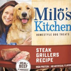 Milos Kitchen Price Pfister Faucet Repair Milo S Recalls Dog Treats For Thyroid Hormones Petfoodindustry Com