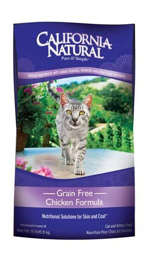 Natura Pet Products Inc California Natural Grain Free Chicken Formula cat food