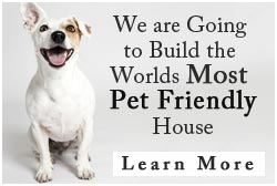 Pet Friendly House Footer Banner