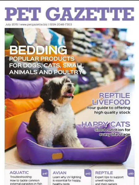 Pet Gazette Cover