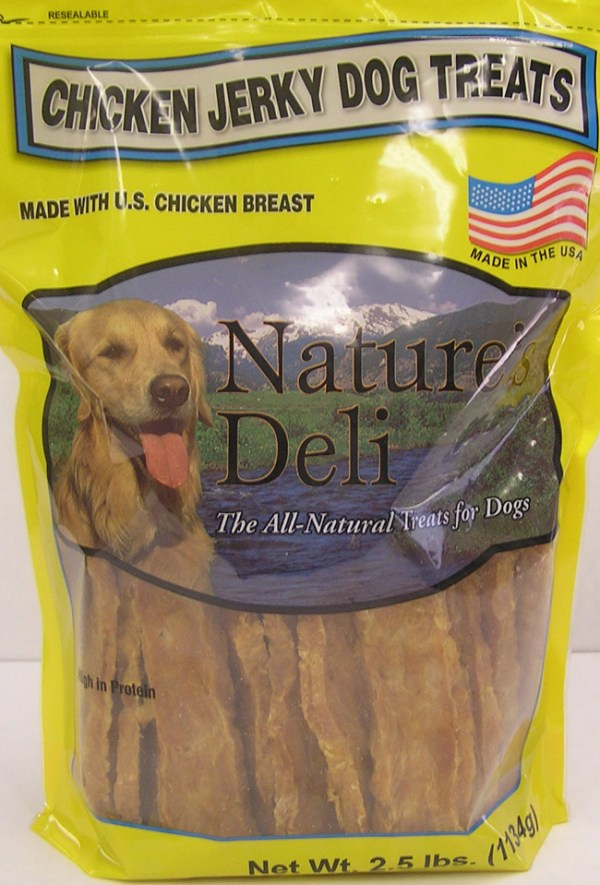 Kasel Associated Industries Recalls Nature's Deli Chicken Jerky Dog Treats Because of Possible Salmonella Health Risk